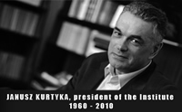 Janusz Kurtyka, Chairman of the Institute of National Remembrance 1960-2010