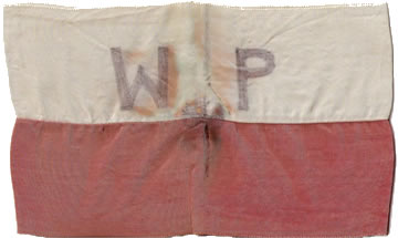 Polish resistance armband - Nazi occupation of Poland